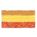 Szalik komin wzorzysty (256) – żółty z czerwonym