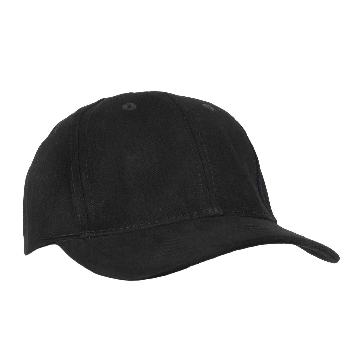 Czapka z daszkiem bejsbolówka – czarny