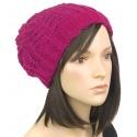 Efektowna damska czapka zimowa krasnal: musztardowy