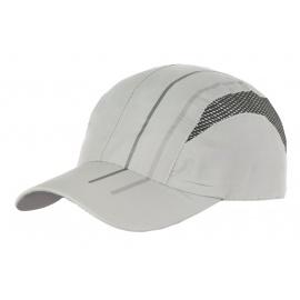 Lekka wentylowana czapka z daszkiem – popielata z siateczką