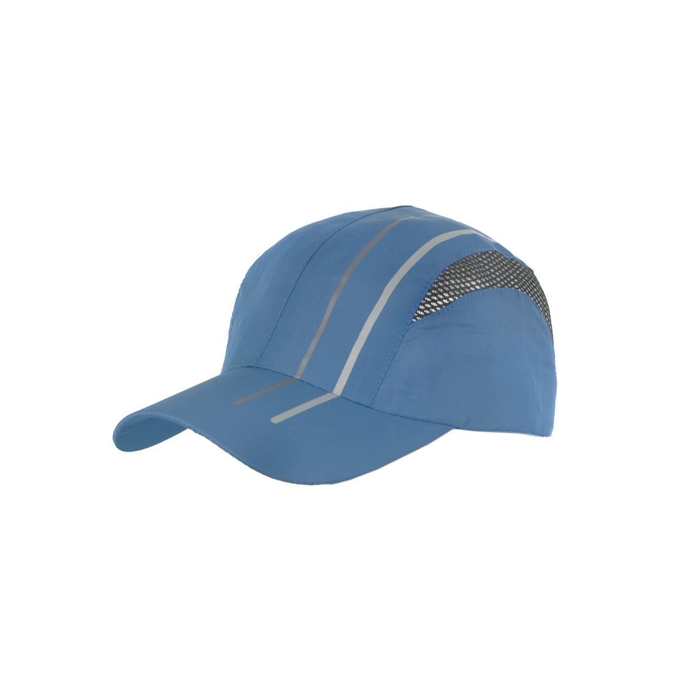 Lekka wentylowana czapka z daszkiem – niebieska z siateczką