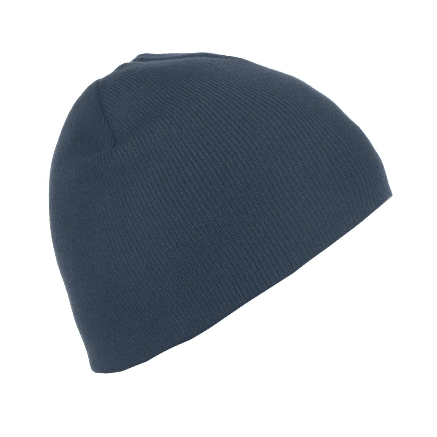 Męska czapka zimowa - granatowa