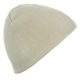 Męska czapka zimowa - piaskowa