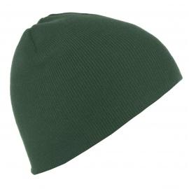 Męska czapka zimowa - zielona