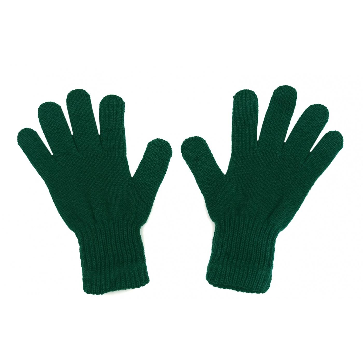 Damskie rękawiczki zimowe: zielone