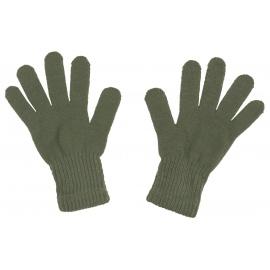Damskie rękawiczki zimowe: khaki