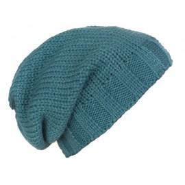 Męska czapka zimowa krasnal – morska