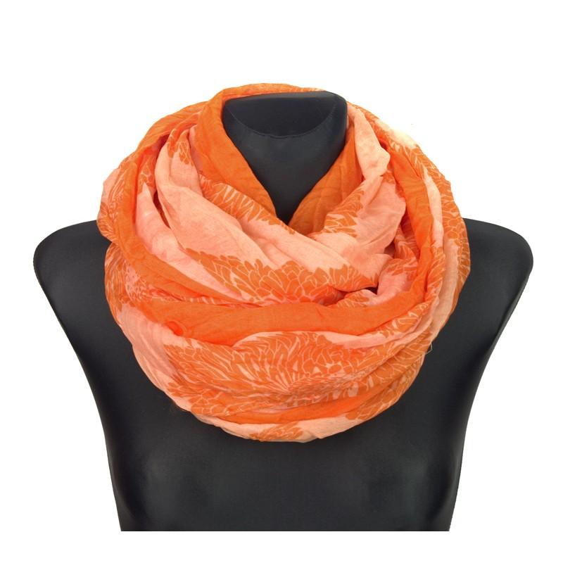 Szalik komin – pomarańczowy