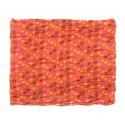 Szalik w znaczki – oranż