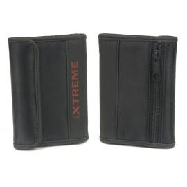 Portfel na rzep z patką Xtreme - czarny