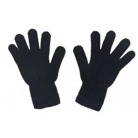 Damskie rękawiczki zimowe: czarne