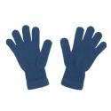 Damskie rękawiczki zimowe: jeansowe
