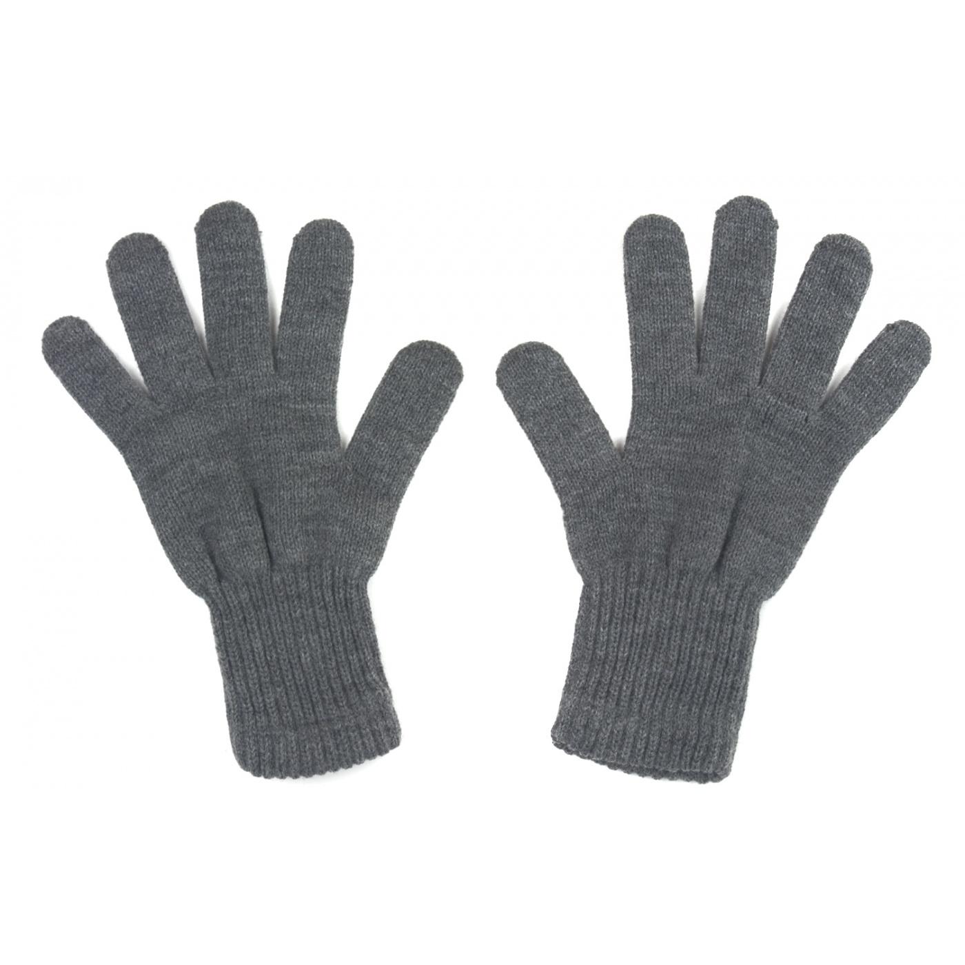 Męskie rękawiczki zimowe: grafitowe