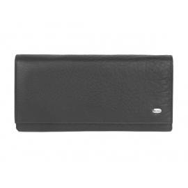Elegancki damski portfel skórzany Nicole - czarny