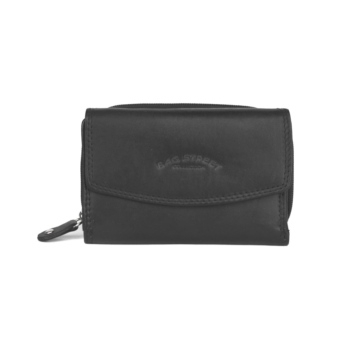 Damski mały portfel Bag Street - czarny