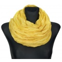 Szalik jednokolorowy - żółty