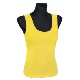 Bluzka damska top – żółty