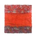 Szalik wzorzysty - oranż