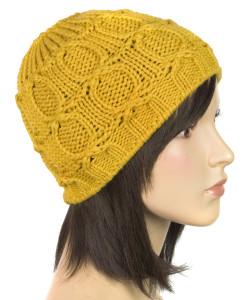 Klasyczna damska czapka zimowa