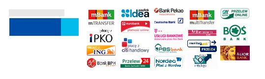 Płatności w sklepie internetowym DQstore.pl obsługuje PayU