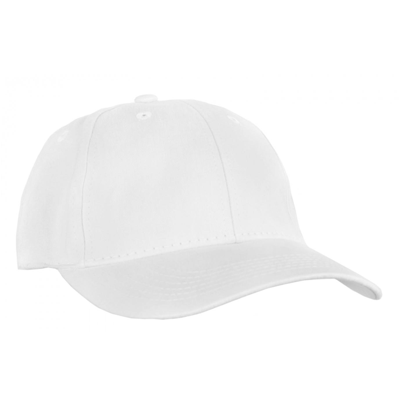 Czapka z daszkiem bejsbolówka – biały