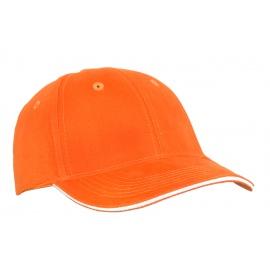 Czapka z daszkiem bejsbolówka – pomarańczowa