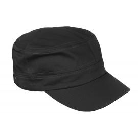 Czapka z daszkiem patrolówka – czarna