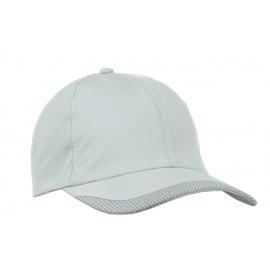 Lekka szybkoschnąca czapka z daszkiem bejsbolówka – jasnoszara