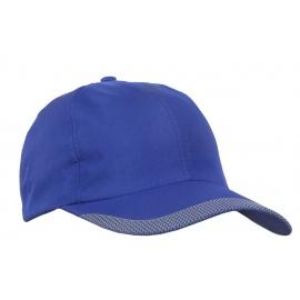 Lekka szybkoschnąca czapka z daszkiem bejsbolówka – niebieska