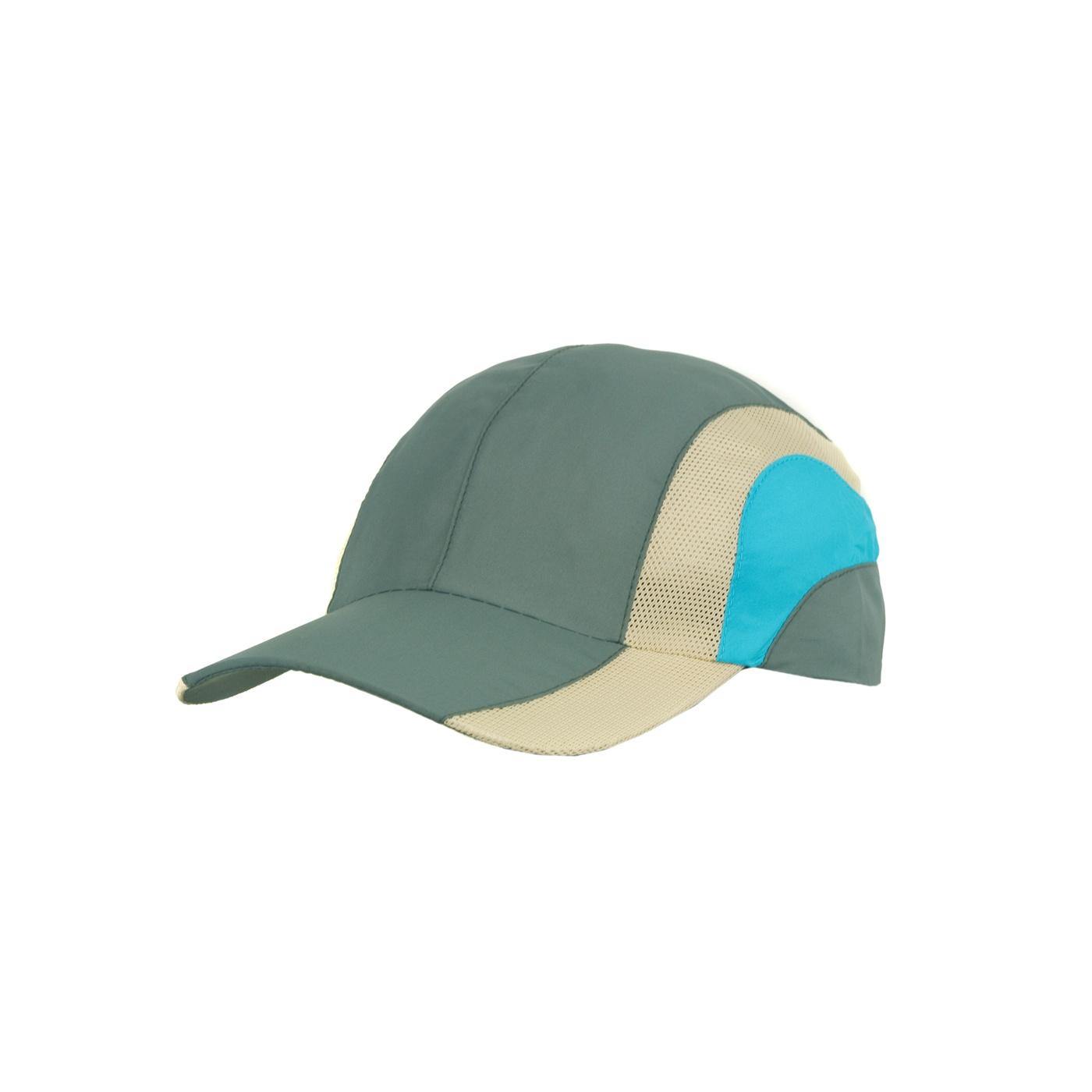 Kolorowa wentylowana czapka z daszkiem – khaki