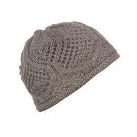 Damska czapka zimowa Sofia - cappuccino beżowa