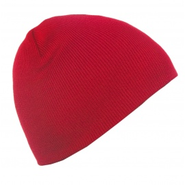Męska czapka zimowa Ben - czerwona