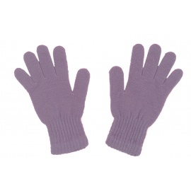 Damskie rękawiczki zimowe : wrzosowy fioletowy