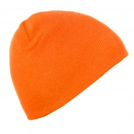 Męska czapka zimowa Ben - neonowa pomarańczowa