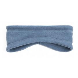 Opaska zakrywająca uszy z polaru - szaro-niebieska