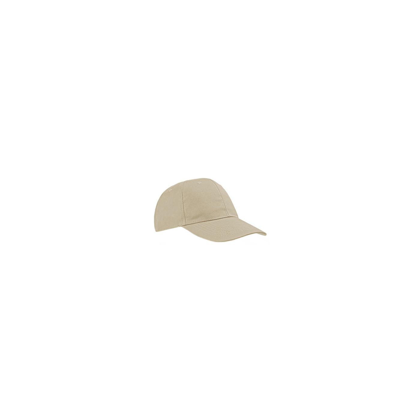 Czapka z daszkiem bejsbolówka – piaskowy beż