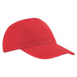 Czapka z daszkiem bejsbolówka – czerwień
