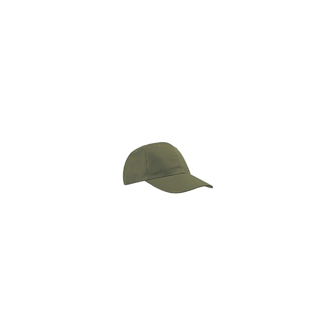 Czapka z daszkiem bejsbolówka – oliwkowa zieleń