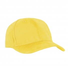 Czapka z daszkiem bejsbolówka – żółta