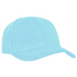 Czapka z daszkiem bejsbolówka – błękitna
