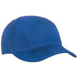 Czapka z daszkiem bejsbolówka – niebieska chabrowa