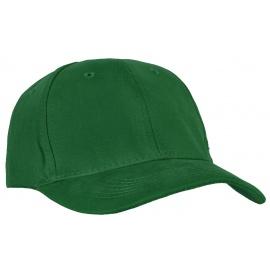 Czapka z daszkiem bejsbolówka – butelkowy zielony