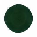 Klasyczny damski beret wełniany – zielony