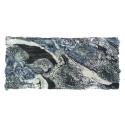Apaszka wzorzysta - czarny / szaroniebieski