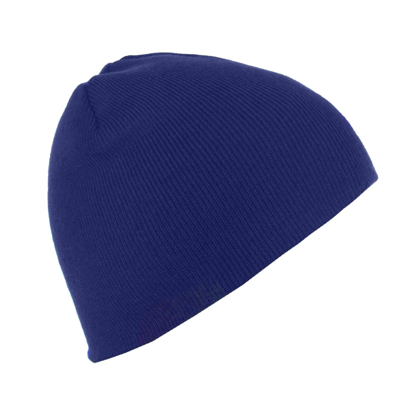 Męska czapka zimowa Ben - niebieska