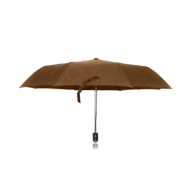 Parasol jednokolorowy – brązowy