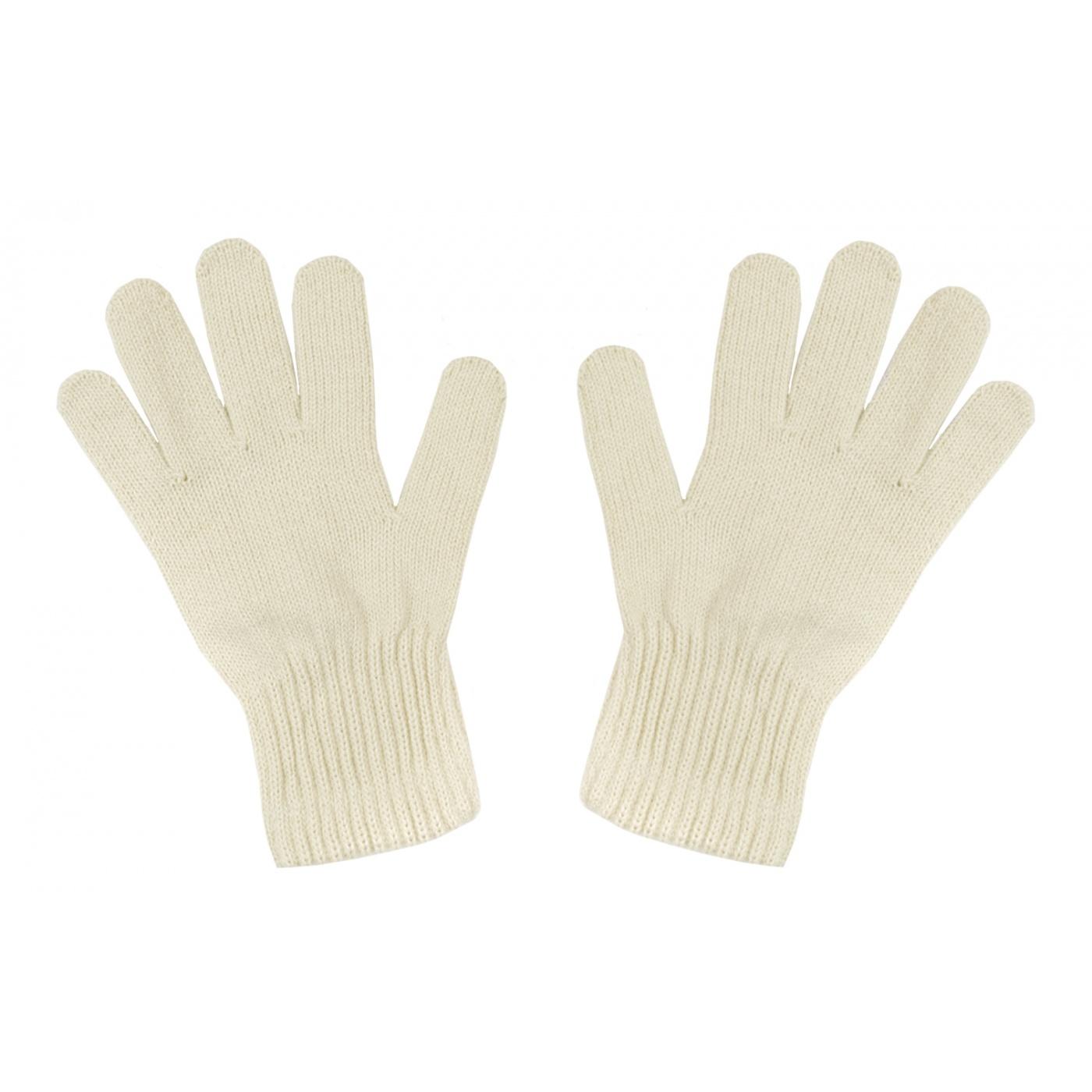 Damskie rękawiczki zimowe : beżowe