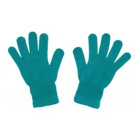 Damskie rękawiczki zimowe: turkusowe