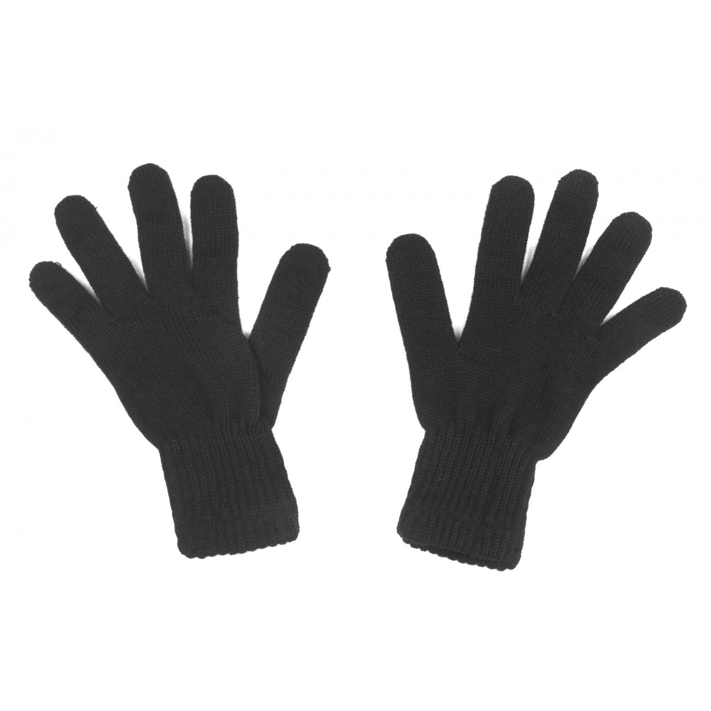 Męskie rękawiczki zimowe : czarne