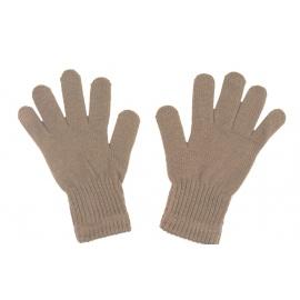 Damskie rękawiczki zimowe: cappuccino (2)